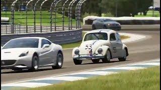 Video Herbie The Love Bug - Volkswagen beetle vs Maserati - Forza Motorsport 5 download MP3, 3GP, MP4, WEBM, AVI, FLV Januari 2018