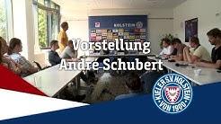 Vorstellung Cheftrainer André Schubert