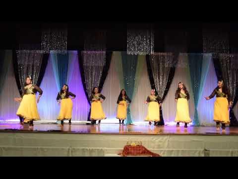 Jilka Jilka Re   Kannada Song & Dance ( Pushpaka Vimana Movie ) Dance Performance By Indian Ladies