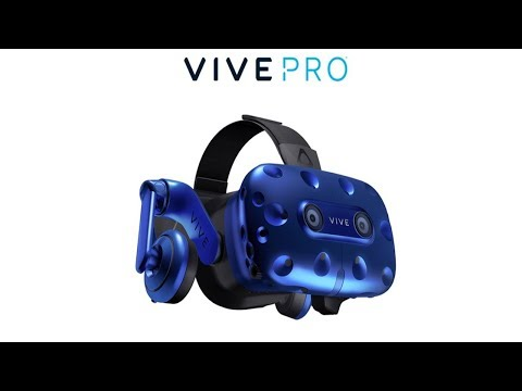 Vive Pro virtual reality headset with higher resolution HTC says it will charge $ 799.