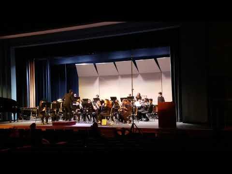 Hans Christensen Middle School Symphonic Band Music Festival 2020