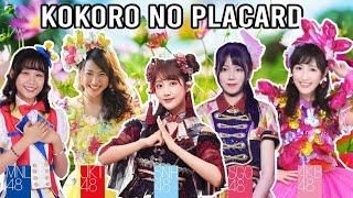 【Kokoro no Placard 💚】AKB48 | JKT48 | SNH48 | MNL48 | SGO48
