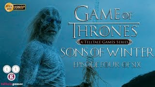 Game of Thrones Juego de Tronos Temporada 1 Episodio 4 Gameplay Español telltale games
