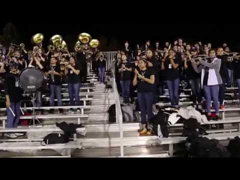 East Hall High School Viking Marching Band 11-06-2015 East Hall Vs  Banks County