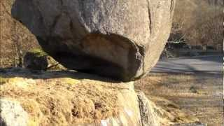 Most amazingly placed rock