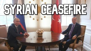 Syrian Ceasefire Ticks Down Erdogan Travels To Russia To Meet Putin And Talk Peace