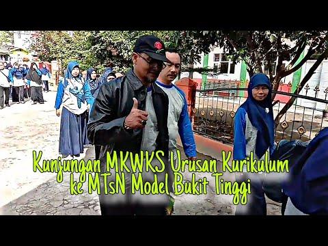 Kunjungan MKWKS Kurikulum SMP/MTs Kab Inhu Ke MTsN I Model Bukittinggi