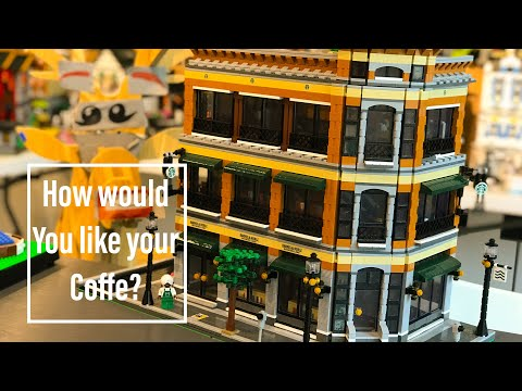 Barnes & Noble / Starbucks Store - A LEPIN Review 15017