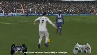 FIFA 14 - Tutorial - como hacer regates (La Ruleta, Doble Toque y Recorte Cristiano Ronaldo)