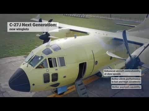 C-27J Next Generation II Pilot Aircraft Tour