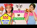 TYPES Of KIDS Navratri Vs Normal Days Roleplay Fun Sketch MyMissAnand mp3