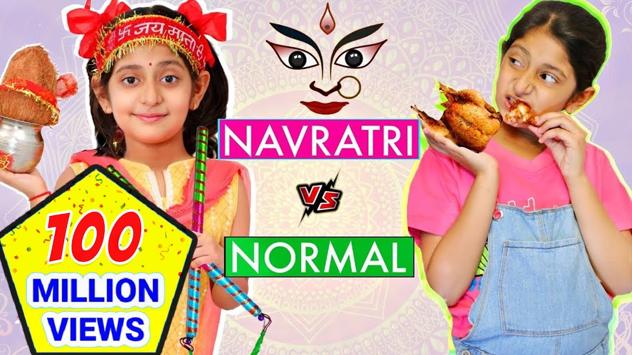Download TYPES of KIDS - Navratri vs Normal Days   #Roleplay #Fun #Sketch #MyMissAnand