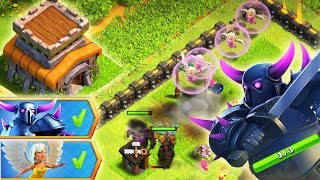 4 ПЕККИ + 4 ХИЛКИ l ЧЁЁЁ? ВЕСЁЛОЕ СОБЫТИЕ В CLASH OF CLANS