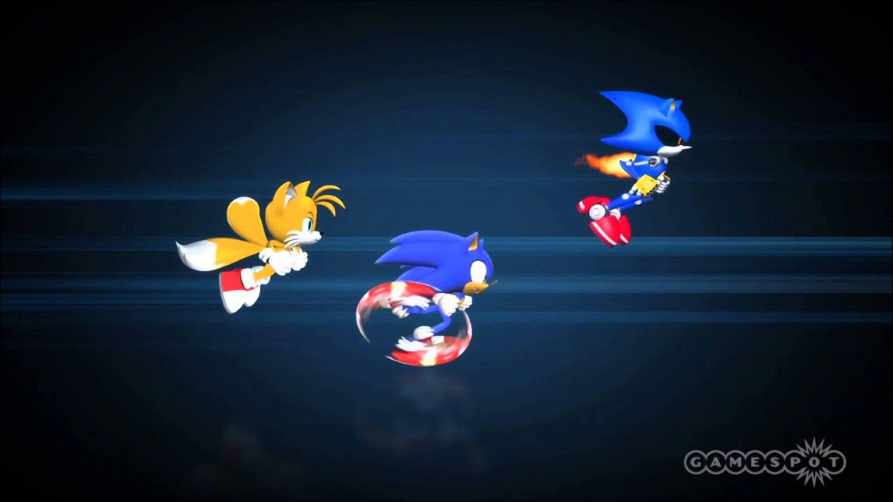 Metal Sonic Classic Vs Modern Rmx Youtube