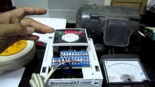 Hướng dẫn cài đặt biến tần LS IG5A (Phần 1)