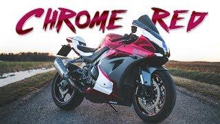 Meine neue MOTORRAD FOLIERUNG! 🔥😍 Suzuki gsxr 1000 BIKEPORN!!