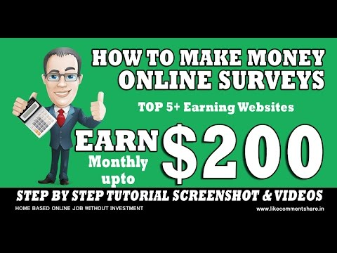 how to make money with free online surveys