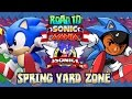 Road To Sonic Mania: Sonic The Hedgehog Part 3 - Spring Yard Zone (christian Whitehead Remake) video
