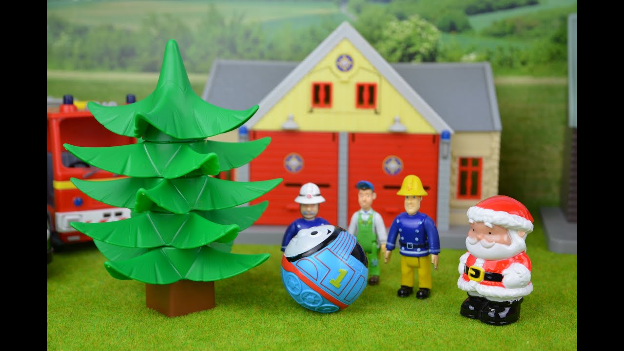 fireman sam episode helping santa thomas and friends feuerwehrmann sam weihnachten youtube. Black Bedroom Furniture Sets. Home Design Ideas