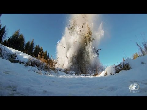 Clearing a Beaver Dam with Dynamite | Sons of Winter
