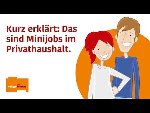 Wo können Minijobber unterstützen? - Die Haushaltsjob-Börse informiert / Neuer Erklärfilm erläutert haushaltsnahe Dienstleistungen in Privathaushalten / Jetzt auch für Tätigkeiten über 450 Euro