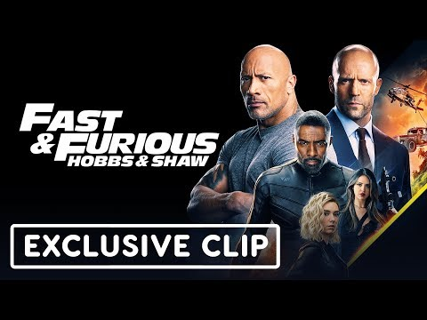 "Fast & Furious: Hobbs & Shaw ""Car Chase"" Exclusive Clip"