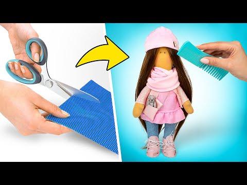 Кукла простая своими руками