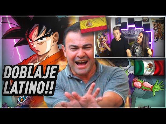 ESPAÑOLES REACCIONAN AL DOBLAJE LATINO!! TOP 10 ACTORES!!