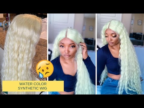 HOW TO: DYE Synthetic Wig | JANET COLLECTION