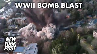 WWII bomb found at university detonated | New York Post