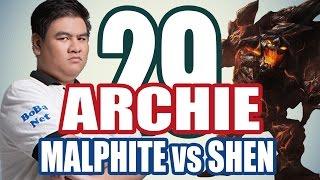 Stream ARCHIE (12/12) - MALPHITE vs SHEN - TOPLANE #29