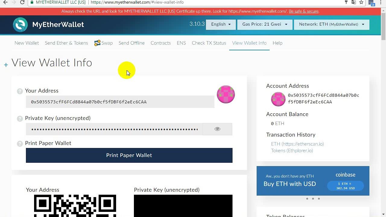 Download Cách add token ATS vào ví Myetherwallet.com
