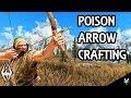 POISON ARROW CRAFTING: Arrow Mod!!- Xbox Modded Skyrim Mod Showcase