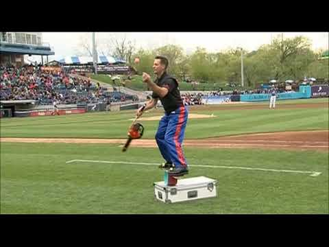 Whitecaps' chainsaw juggler proves again minor league promotions are the best