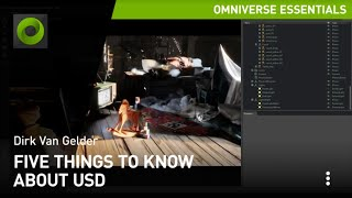 Five Things to Know About USD in NVIDIA Omniverse