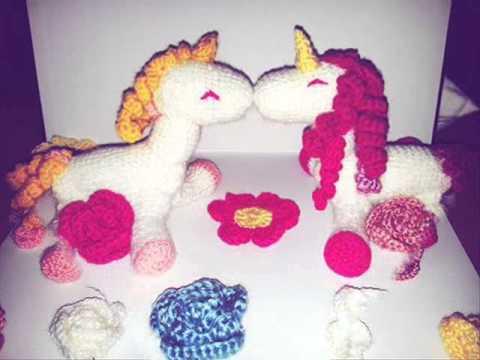 Amigurumi Unicorn : Amigurumi unicorn youtube