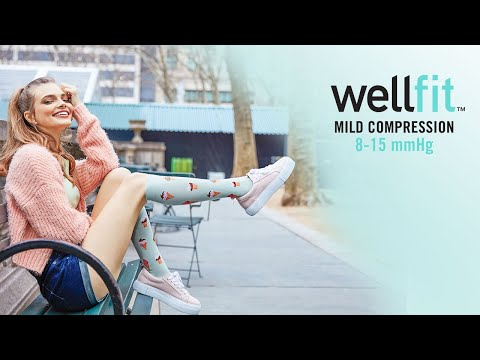 WellFit by MeMoi - Mild Compression Socks