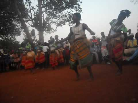 Dancers in Bujagali