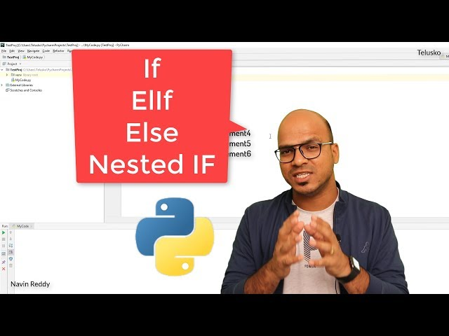 #19 Python Tutorial for Beginners | If Elif Else Statement in Python