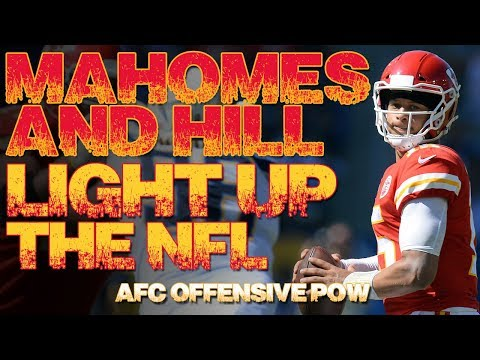 Patrick Mahomes and Tyreek Hill Ignite NFL  – AFC OPOW | Film highlights | Kansas City Chiefs 2018