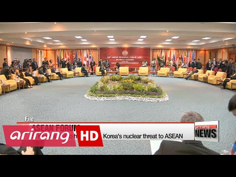 S. Korea's FM to highlight N. Korea's nuclear threat to ASEAN