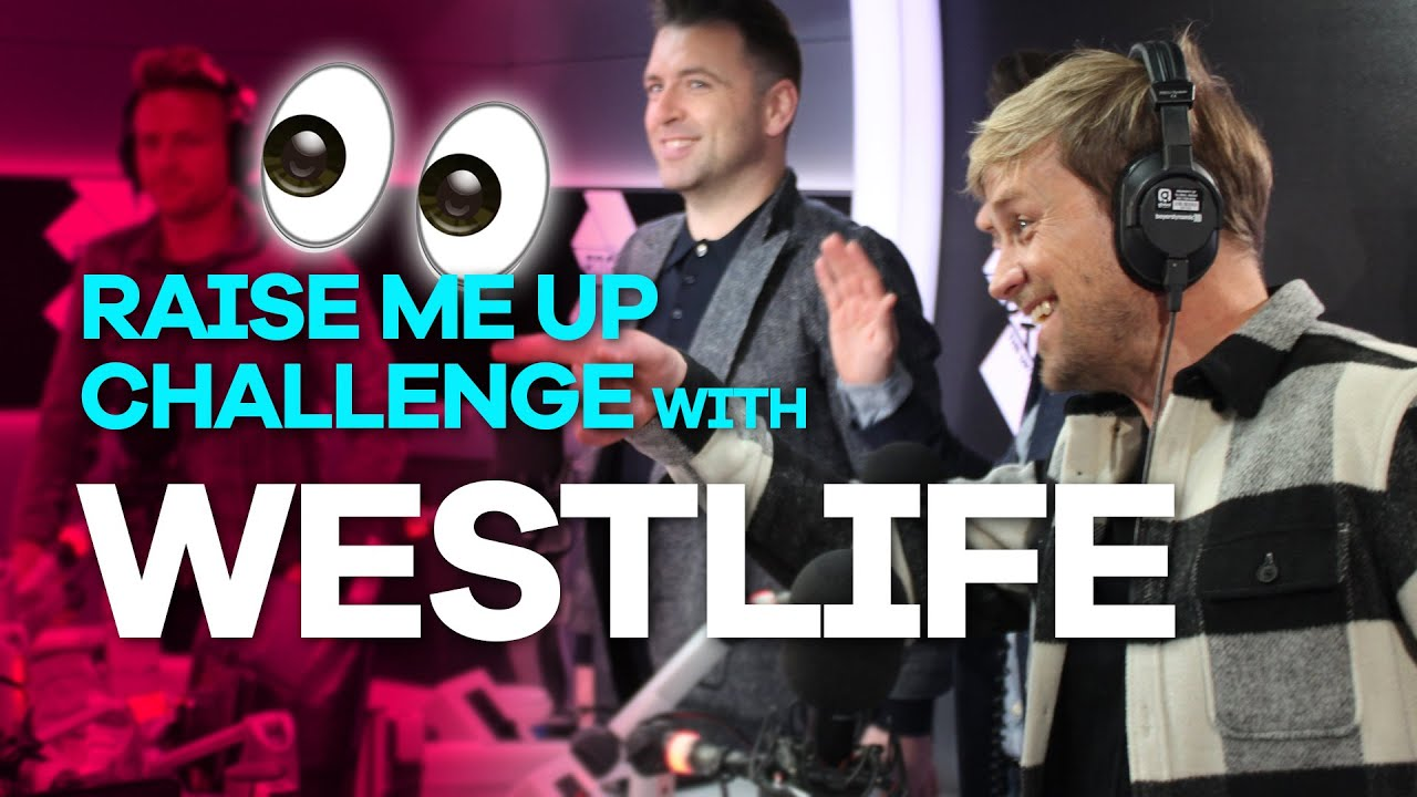 Westlife play the Raise Me Up challenge and reveal juicy band secrets 👀