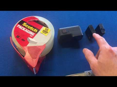Is your GoPro Hero battery tab broken? Watch this! It might help!