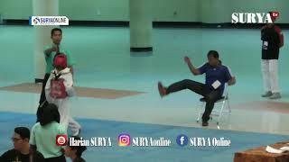 ANAK ANAK DALAM Kejurnas Taekwondo Unair Cup 2019