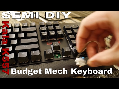 The awesome, Redragon k557 Kala RGB Mech Keyboard (Enthusiasts on a budget)