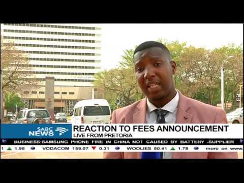 Media not allowed inside the University of Pretoria: Sipho Stuurman