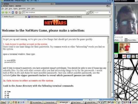 NetWars LIVE with Flint Adkins