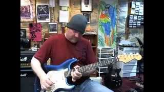 "Rex Carroll Blues Guitar: ""Steppin Out"""