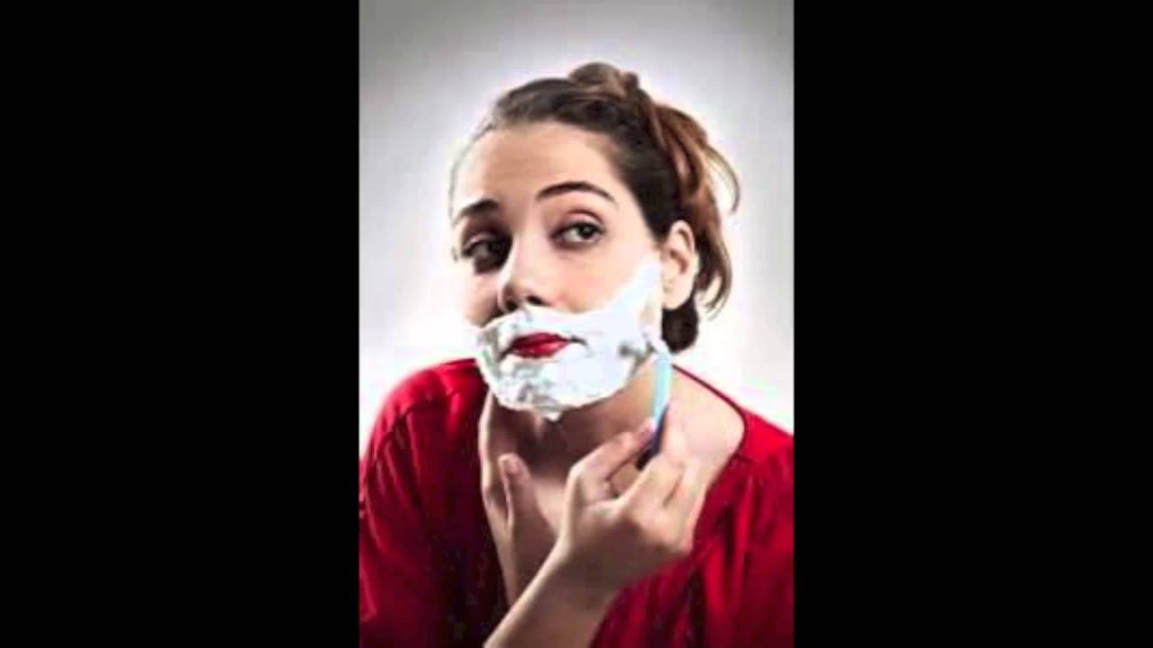 Should women shave facial hair