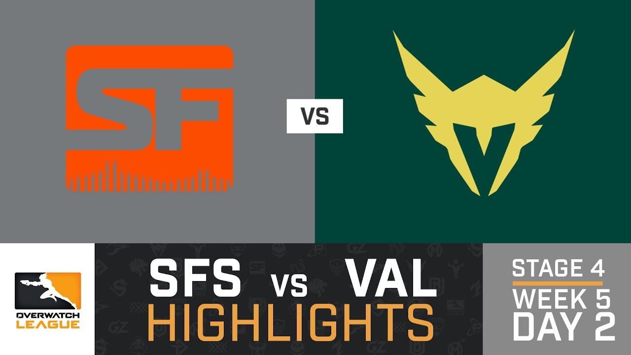 Highlights San Francisco Shock Vs Los Angeles Valiant Stage 4 Week 5 Day 2 Overwatch League Youtube